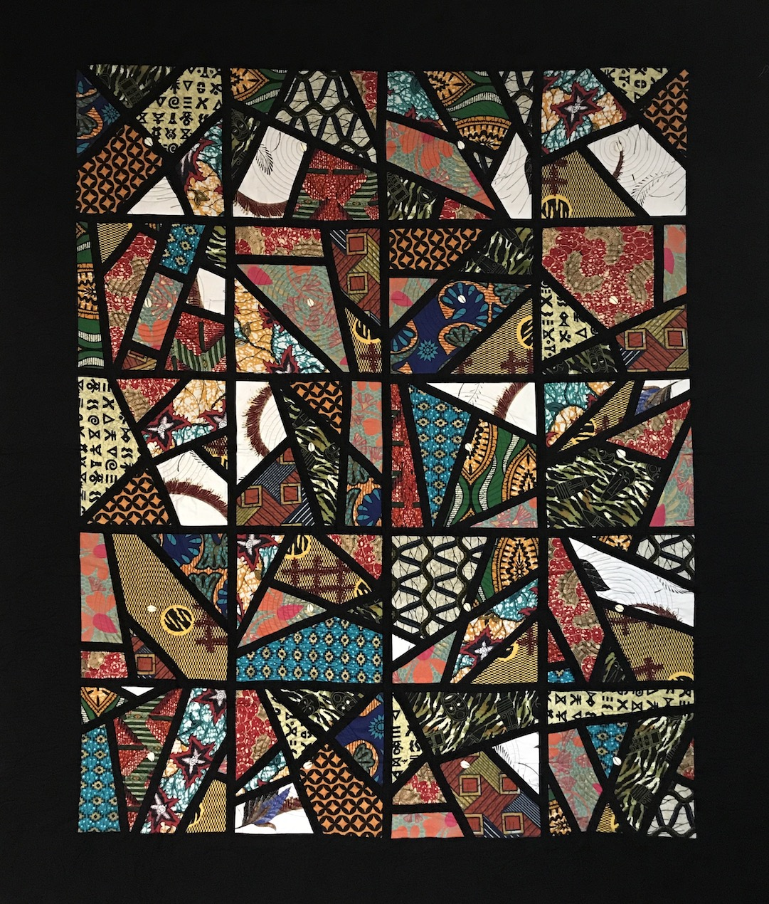 Gwen T. Samuels: African Stained Glass