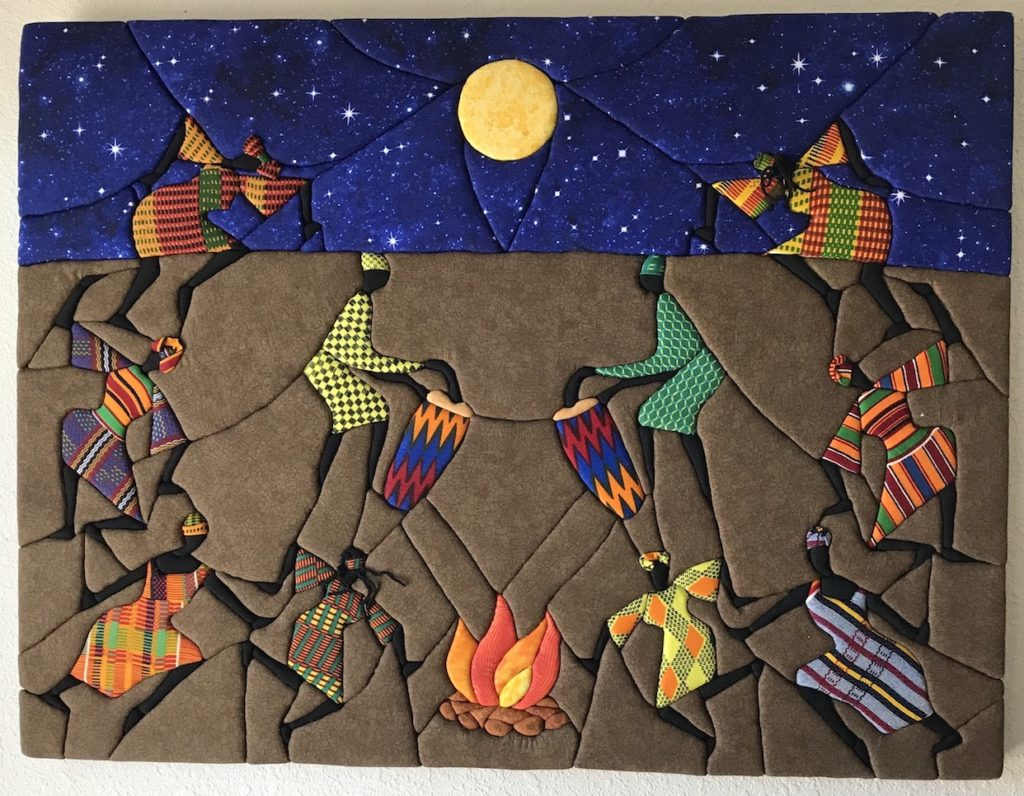 Gwen T. Samuels: The Fire Dance