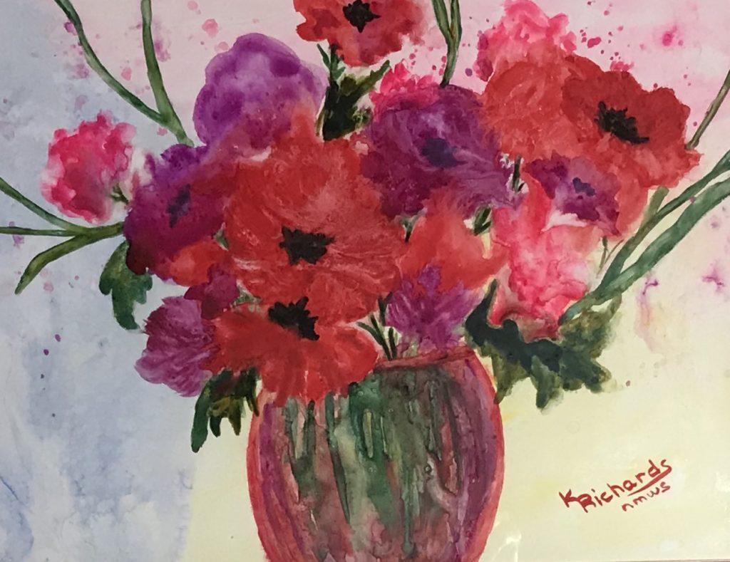 Kay Richards: Shades of Red
