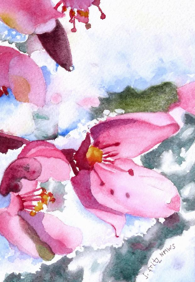 Jane Fritz: Snowy Blossoms 2