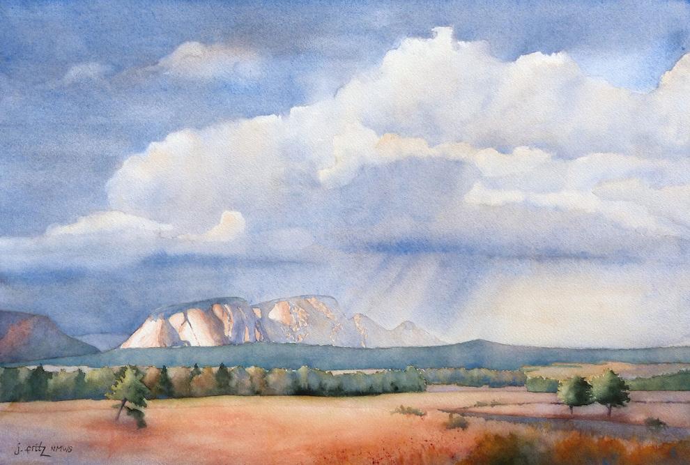 Jane Fritz: Squall over Hermit's Peak