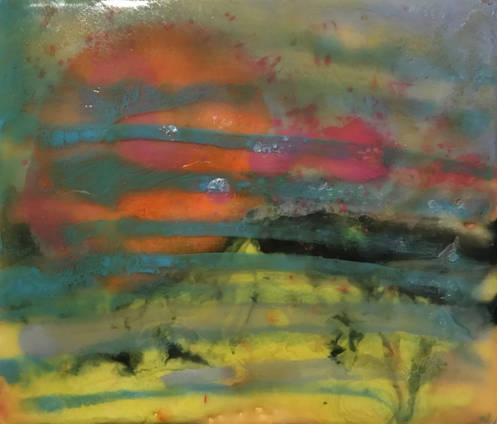 Gala Yershevich: Sunset