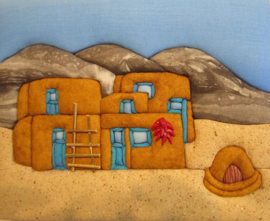 E. Cristina Diaz-Arntzen: Taos Pueblo