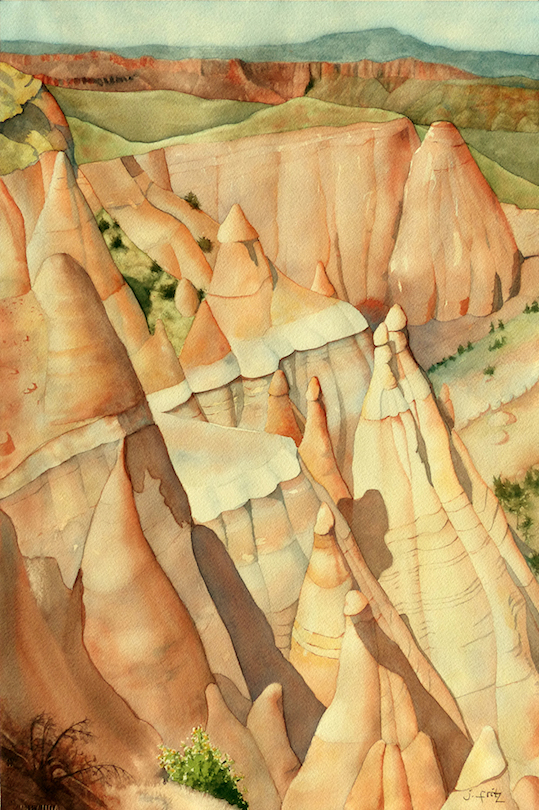 Jane Fritz: Tent Rocks