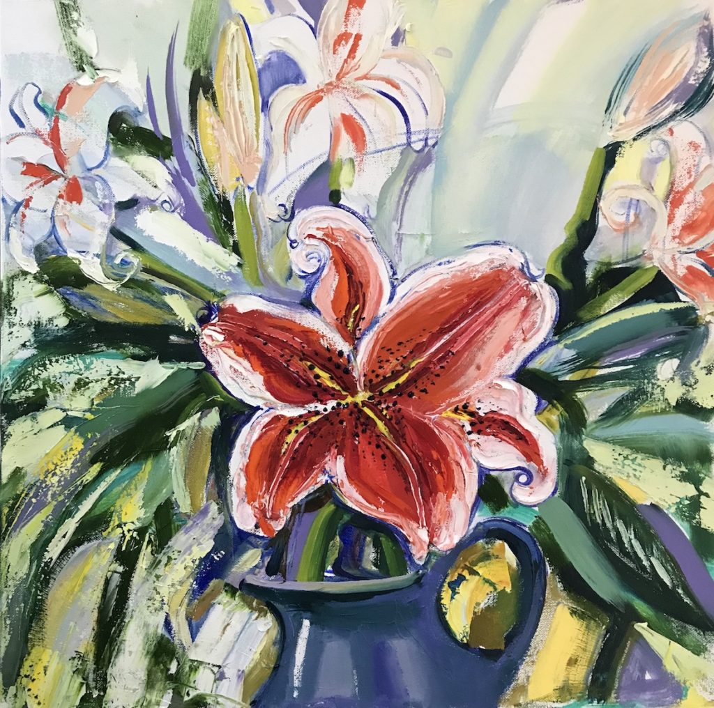 Gala Yershevich: Tiger Lilies