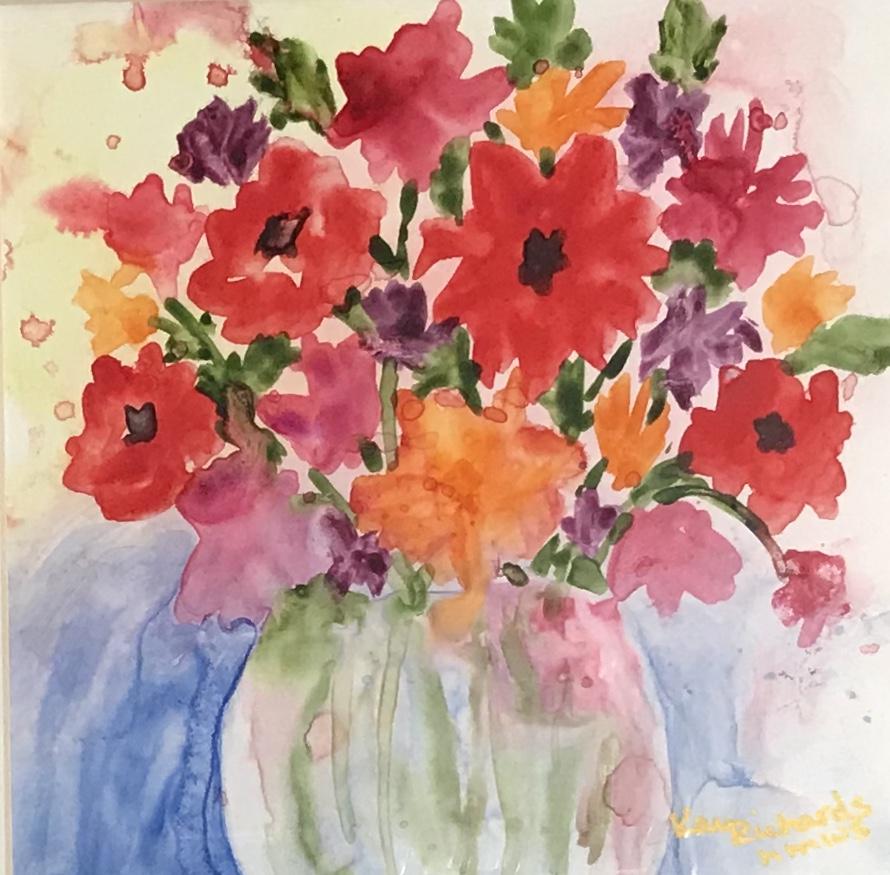 Kay Richards: Vase of Flowers