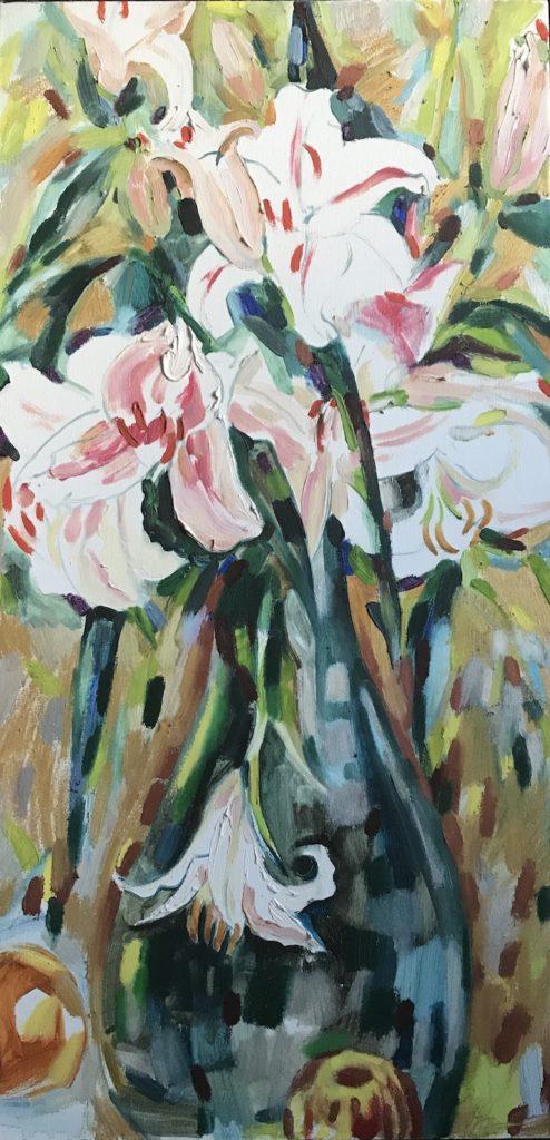 Gala Yershevich: White Lilies