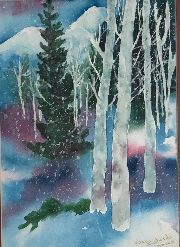Kay Richards: Winter in the Mountains