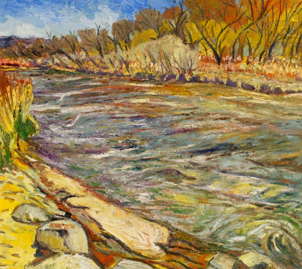 Chris Easley: The Banks of the Bosque