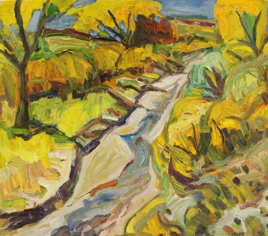 Chris Easley: Fall on the Arroyo