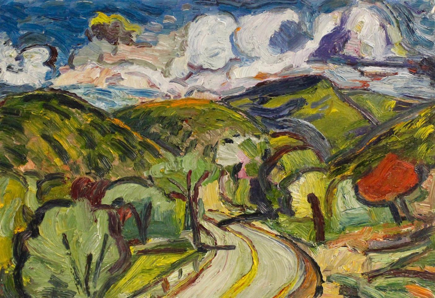 Chris Easley: Road East of Placitas