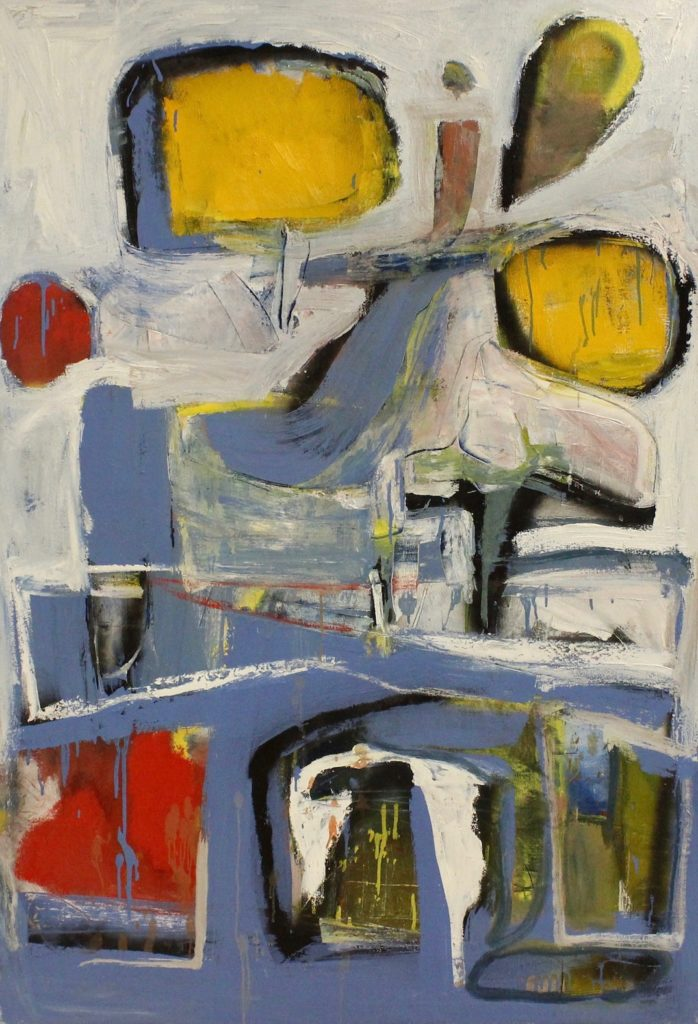 Chris Easley: Small Red Yellow and Blue