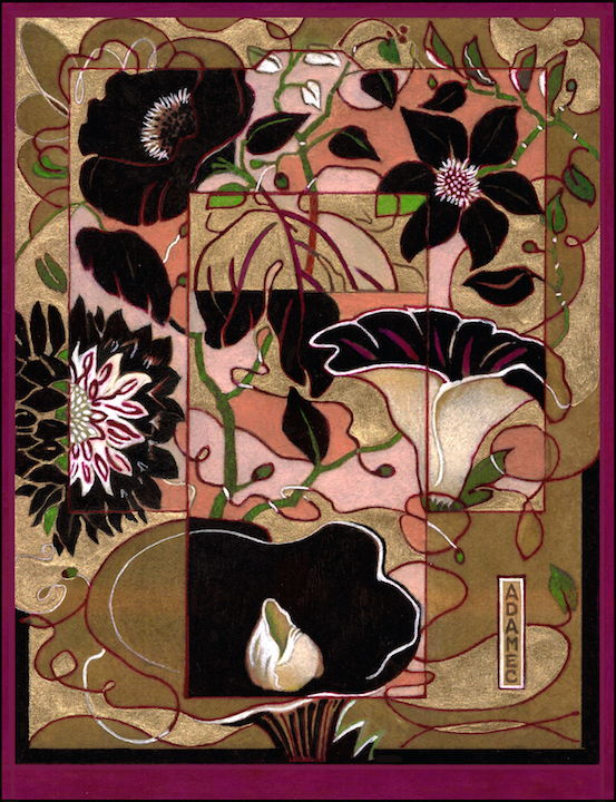 Carol L. Adamec: Coming Spring Kimono