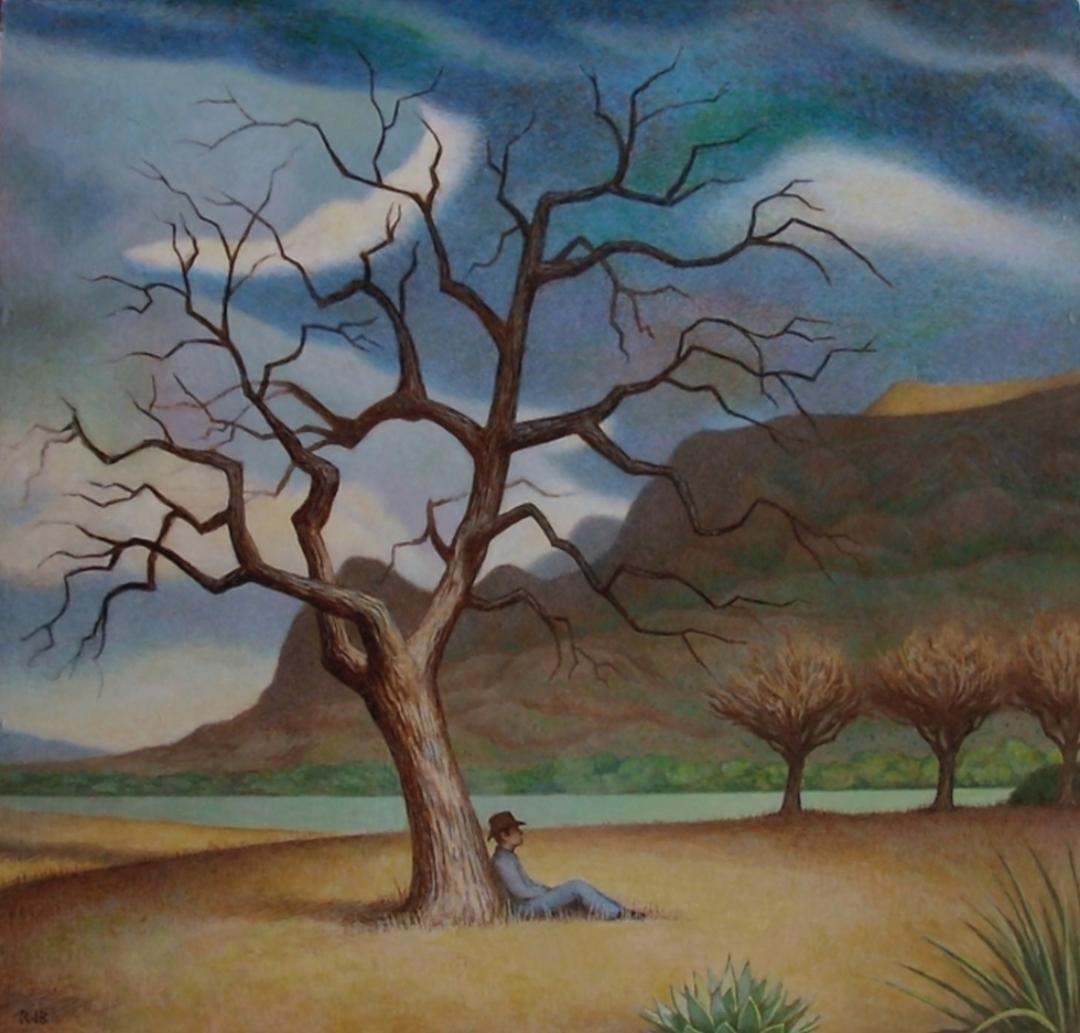 Rex Barron: Desert Solitude