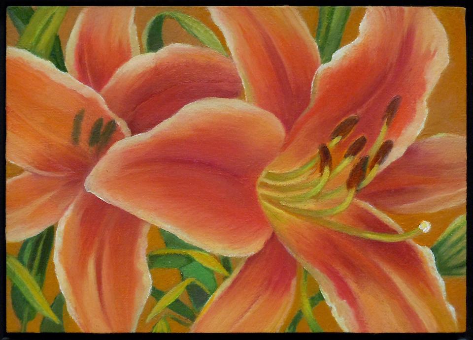 Carol L. Adamec: Double Lily