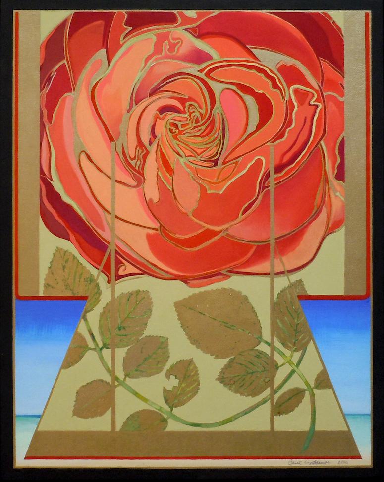 Carol L. Adamec: Floating Rose Kimono