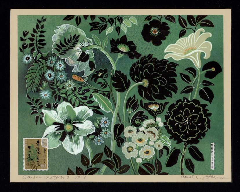 Carol L. Adamec: Garden Diptych 2