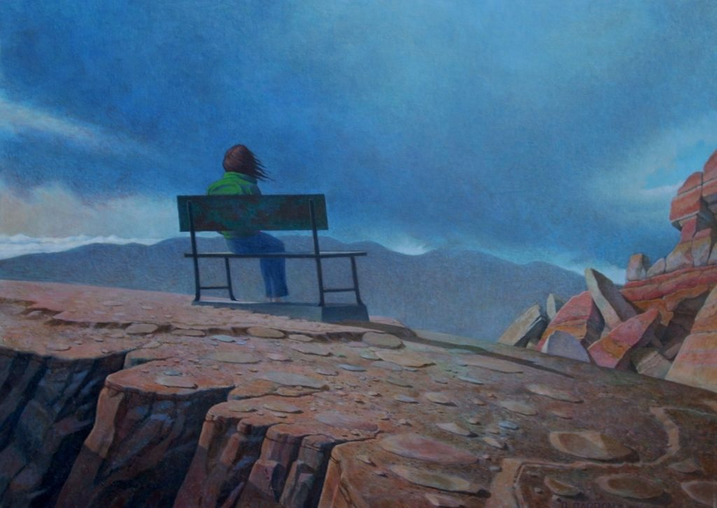 Rex Barron: Overlook -  Acrylic