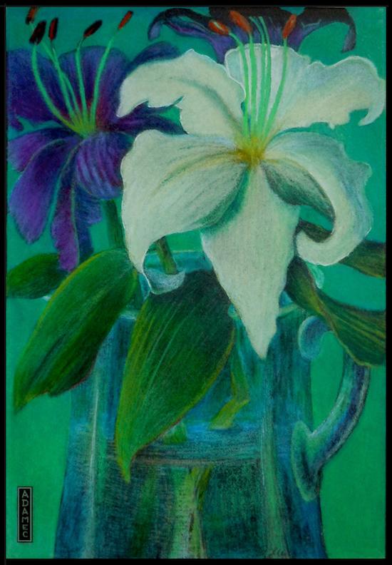 Carol L. Adamec: Teahouse Bouquet
