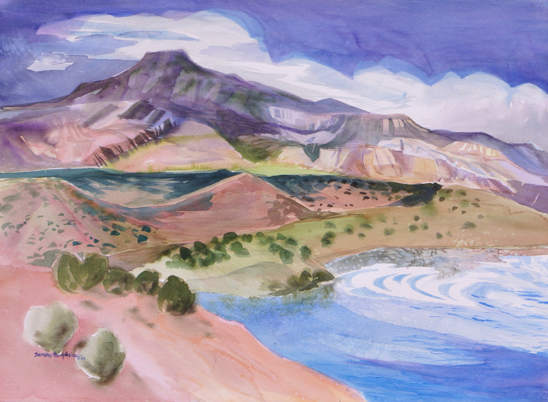 Sandra Humphries: Abiquiu Lake