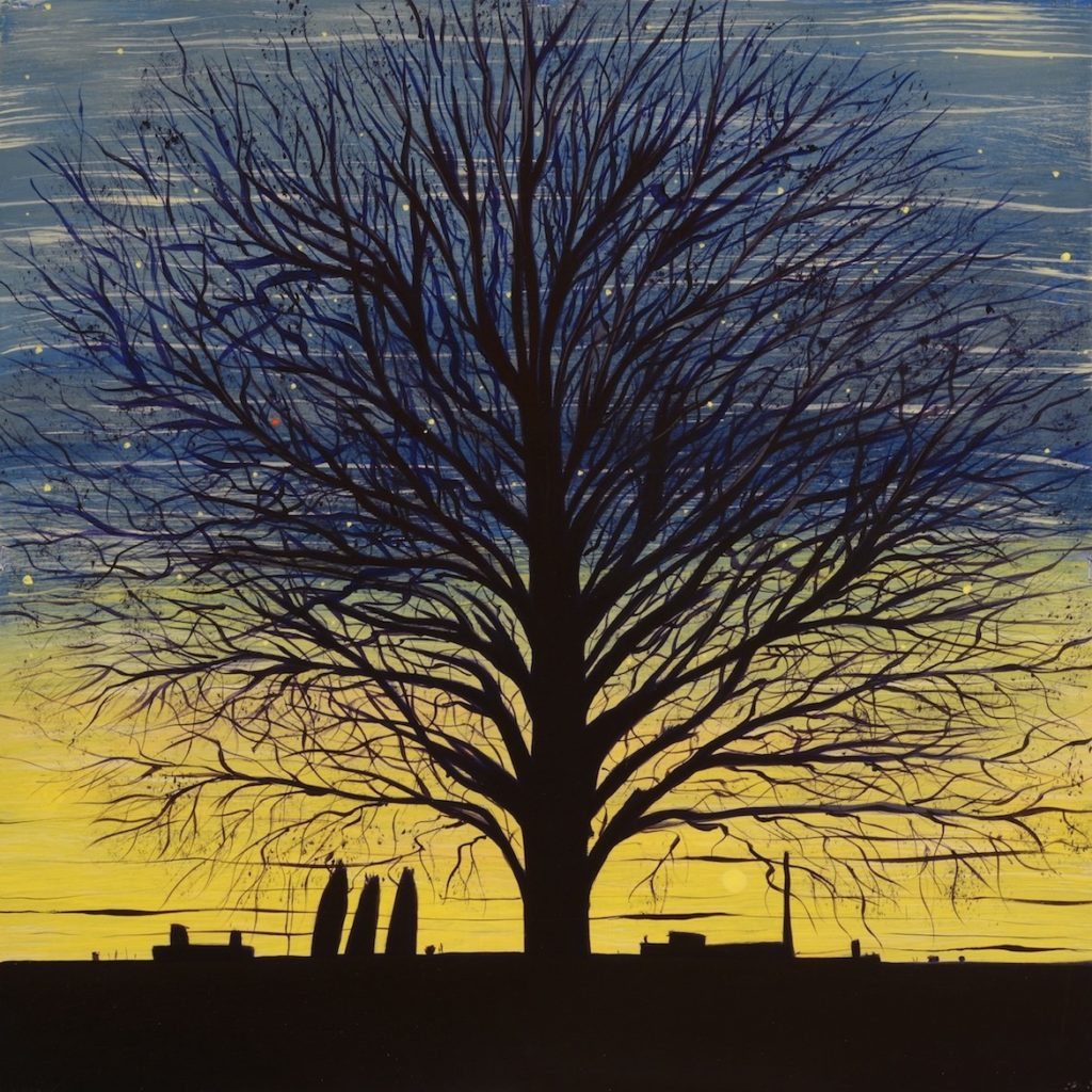 Page Coleman: Bare Trees 1
