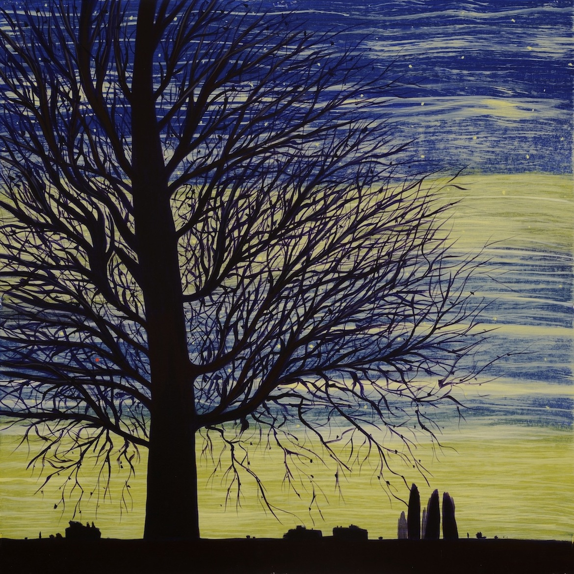 Page Coleman: Bare Trees 3