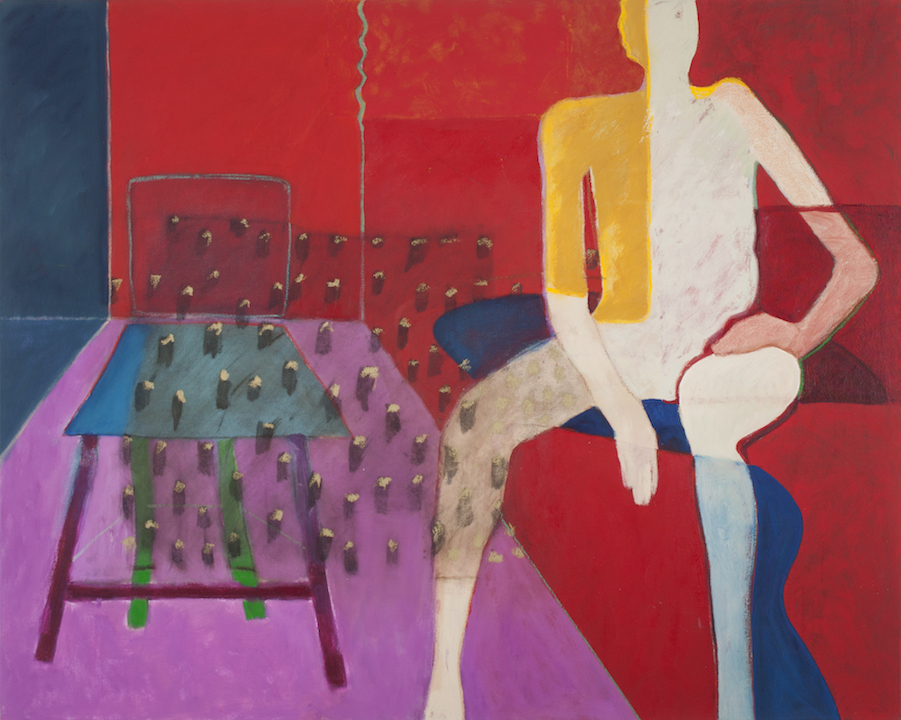 Bright Soul Oil 48x60 $3000 2010