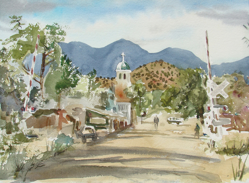 Katherine Gauntt: Cerrillos Main Street