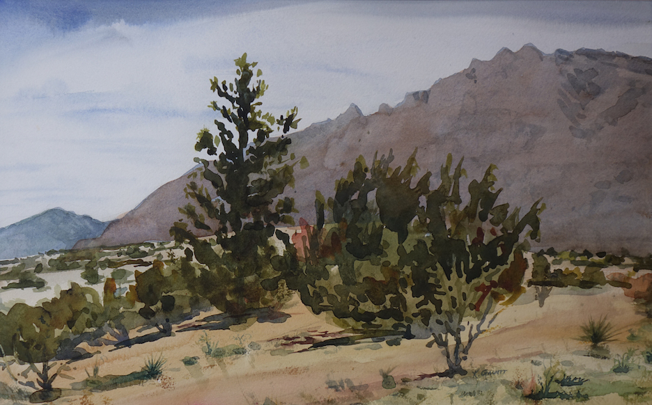 Katherine Gauntt: East Mountains of NM