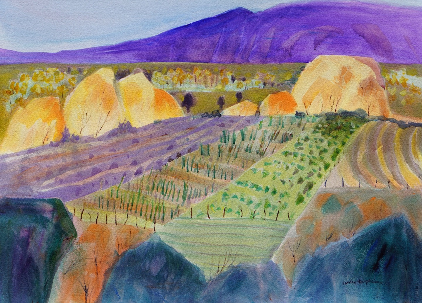 Sandra Humphries: Fall Harvest