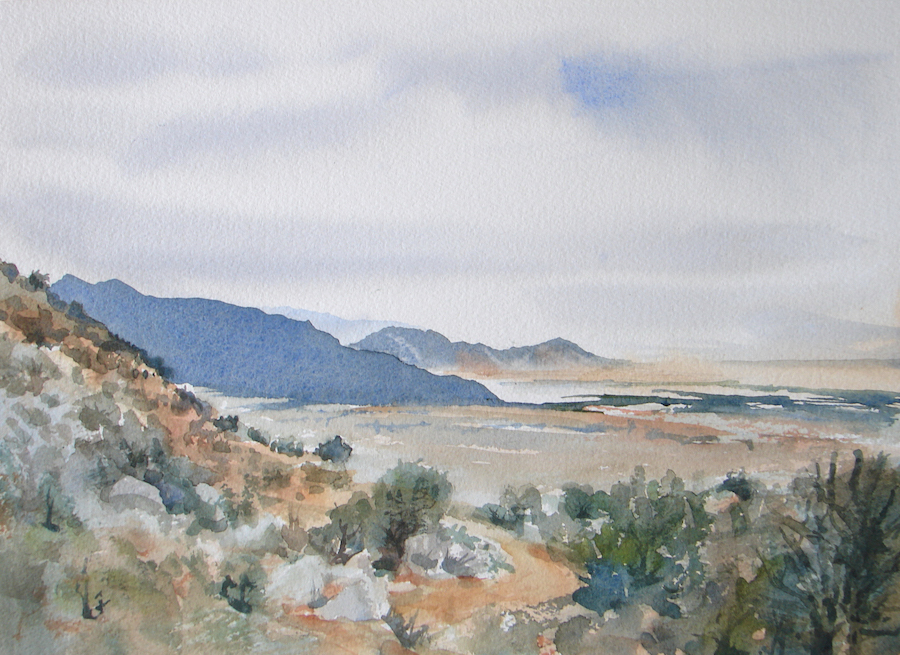 Katherine Gauntt: Four Hills from La Luz