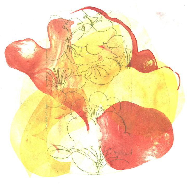 Mary Sundstrom: Petal Flower Mashup