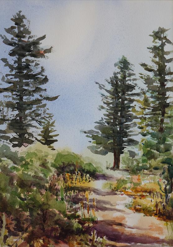 Katherine Gauntt: Mountain Path