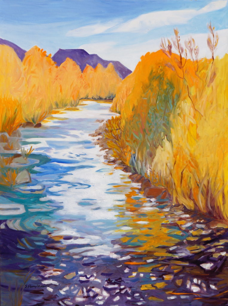 Sandra Humphries: October, New Mexico
