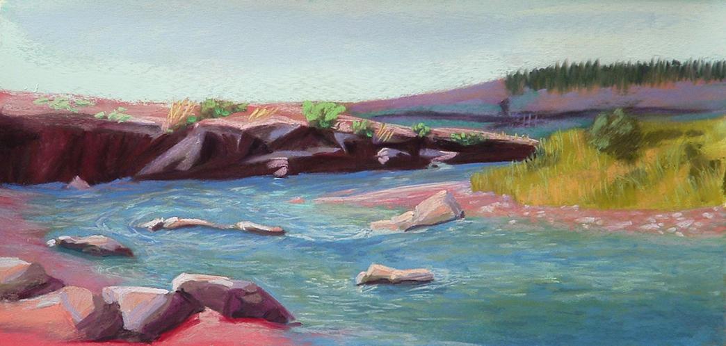 Lisa Zawadzki: Pagosa River