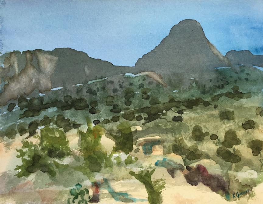 Katherine Gauntt: Sandia Foothills