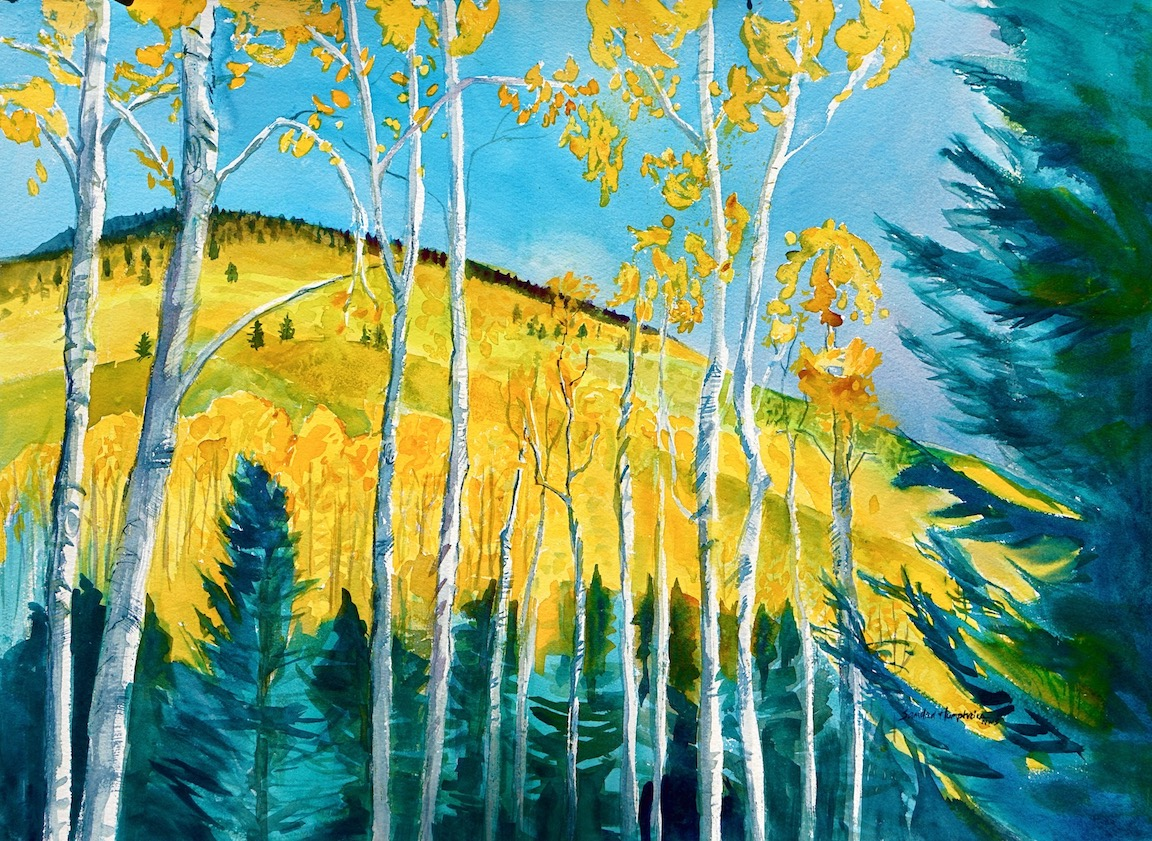Sandra Humphries: Santa Fe October