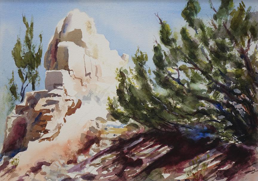 Katherine Gauntt: White Cliffs