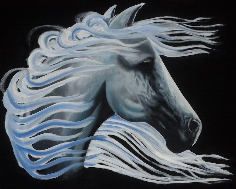 Kevin Castillo: Blue Horse