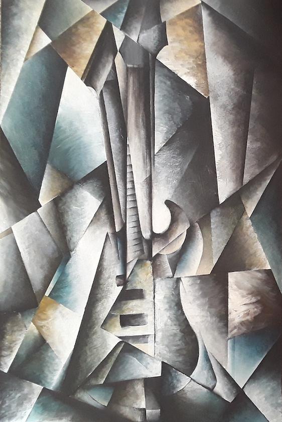 Brandon Allebach: Cubist Guitar