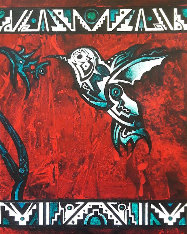 Brandon Allebach: Tribal Hummingbird