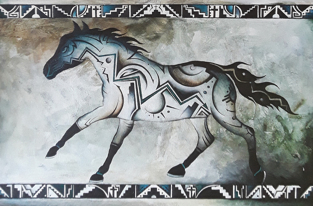 Brandon Allebach: Tribal Horse