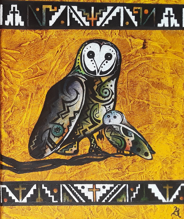 Brandon Allebach: Tribal Owls