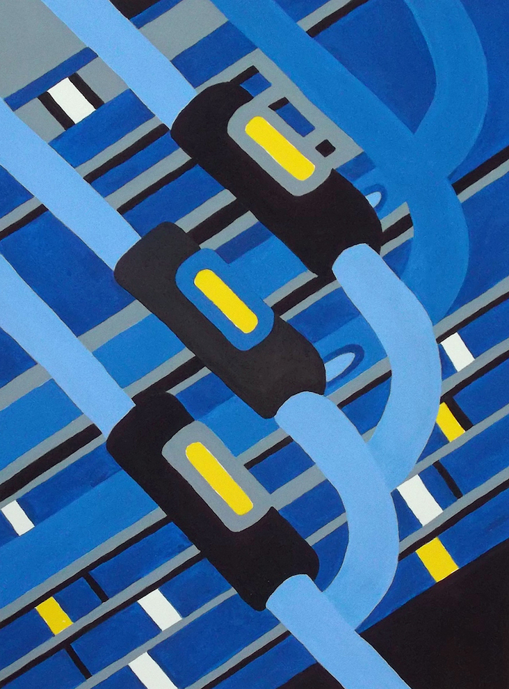 Janine Wilson: Blue Freeway