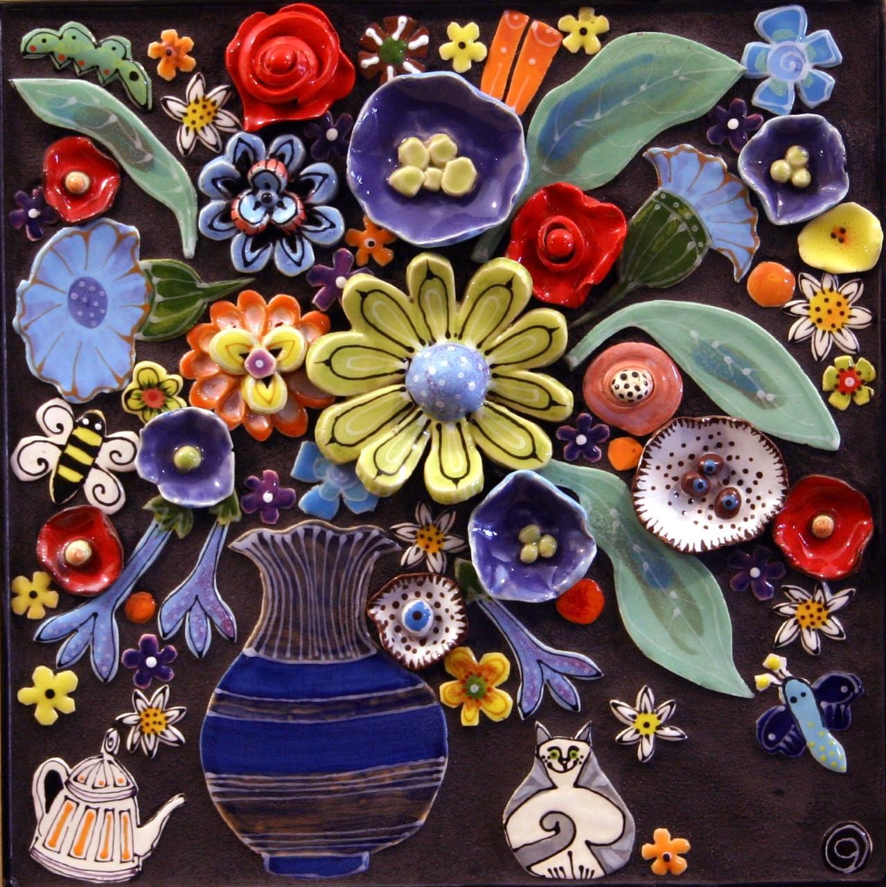 Meg Butler: Cobalt Vase