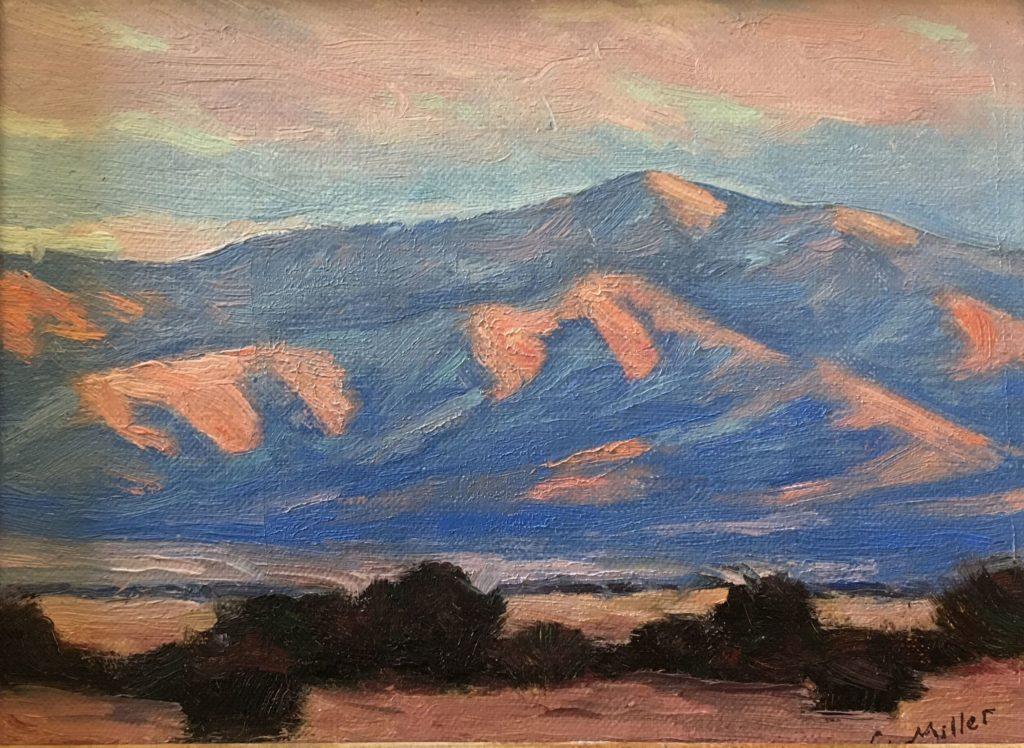 Chris Miller: Ortiz Mountains Sundown