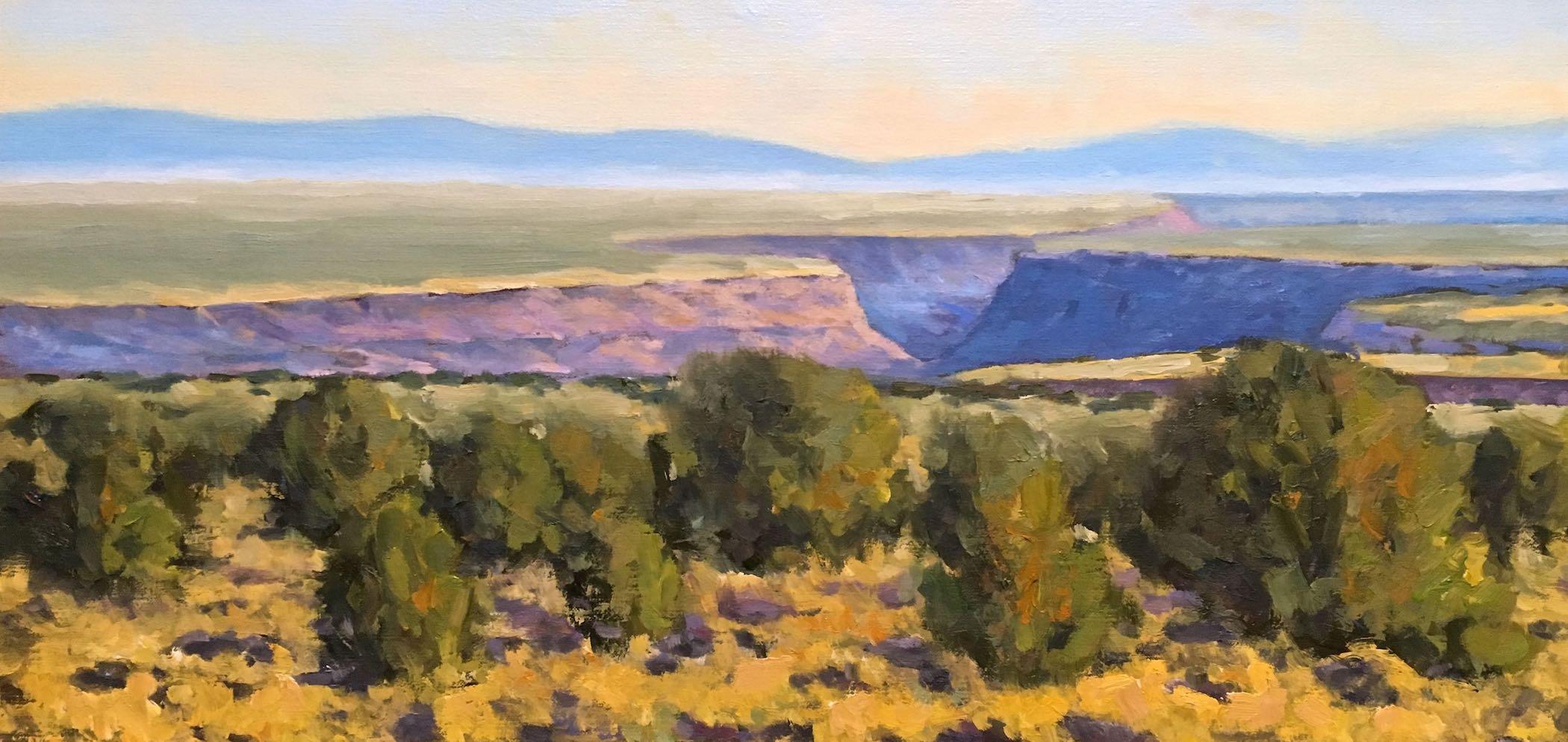 Chris Miller: Rio Grande Gorge Near Taos
