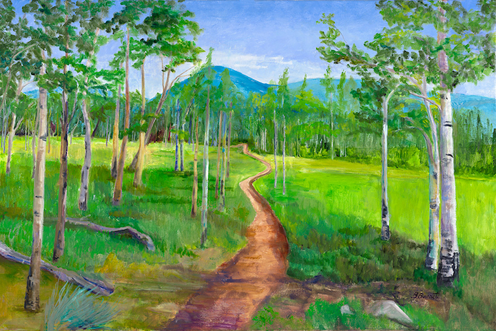Barbara Barrett: Aspen Path