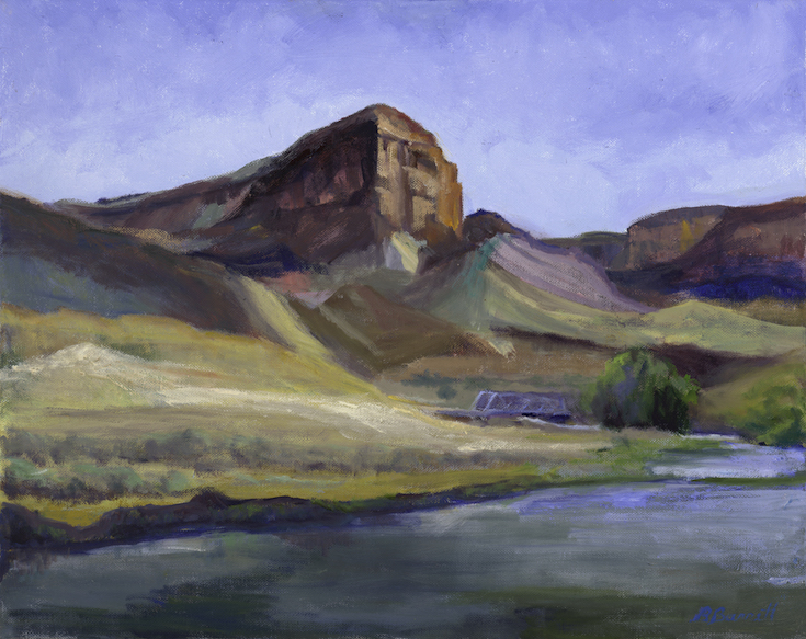 Barbara Barrett: Cliffs at Taos Junction
