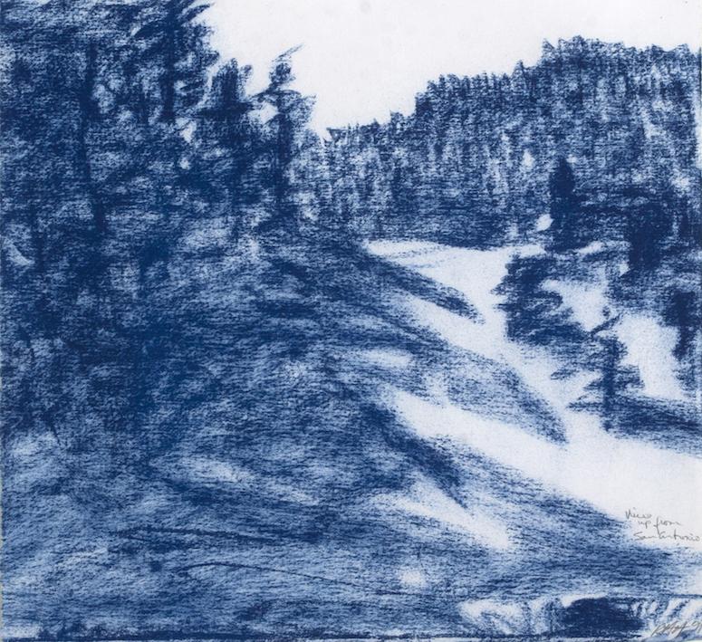 Russell Hamilton: Blue Hillside